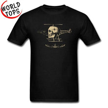 Load image into Gallery viewer, Men's Skullicopter T-Shirt - Music Massacre