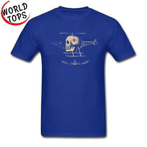 Men's Skullicopter T-Shirt - Music Massacre