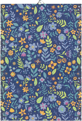 Ekelunds ekologiska handdukar BLUE MEADOW 35X50 CM