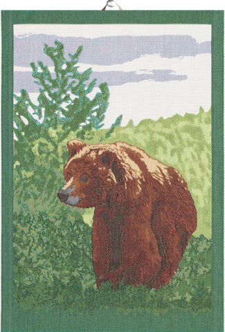 Ekelunds ekologiska handdukar BROWN BEAR 35X50 CM