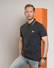Afbeelding in Gallery-weergave laden, Polo shirt DTCH vibe grey