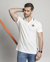 Afbeelding in Gallery-weergave laden, Polo shirt DTCH vibe essential white