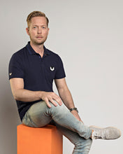 Afbeelding in Gallery-weergave laden, Polo shirt DTCH vibe navy