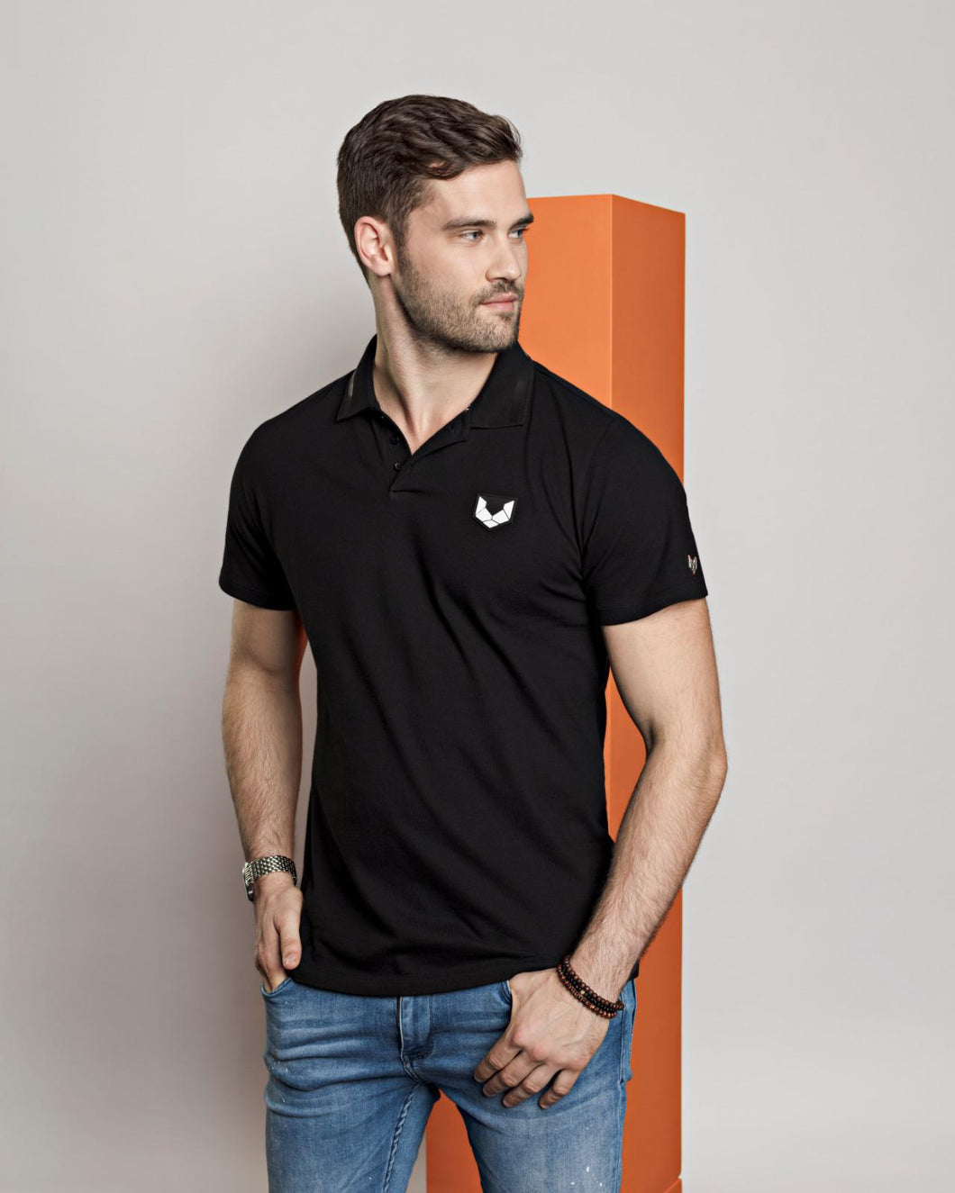 Polo shirt DTCH vibe black