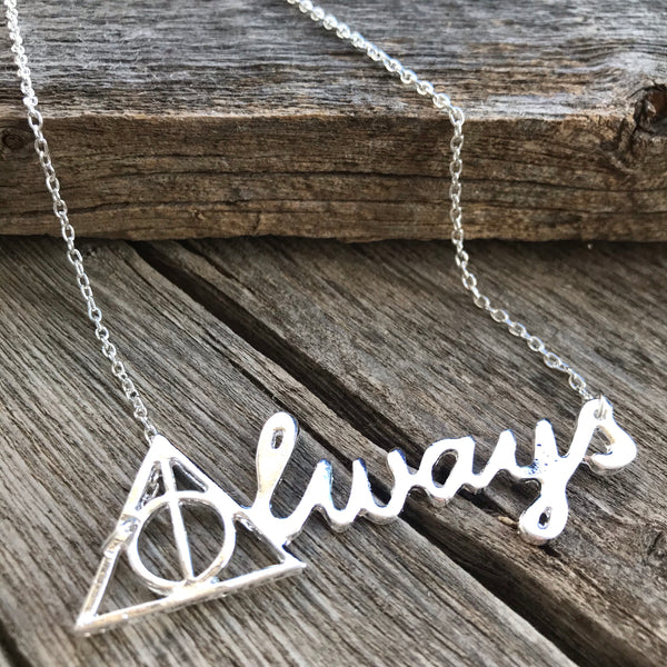 Deathly Hallows Necklace - Always