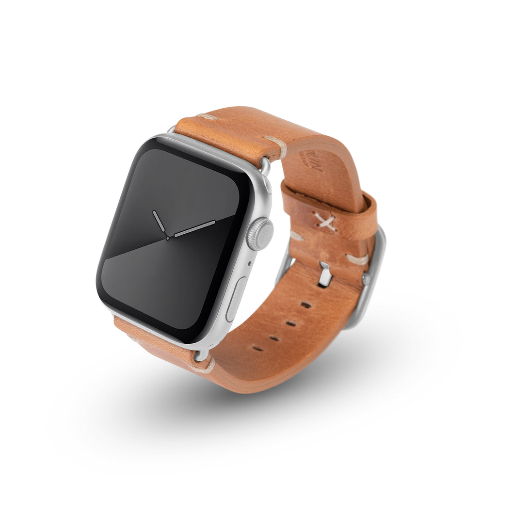 Apple Watchband Alex Vintage Cognac 42-44mm