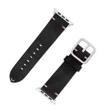 Lade das Bild in den Galerie-Viewer, Apple Watchband Alex Vintage black 42-44mm