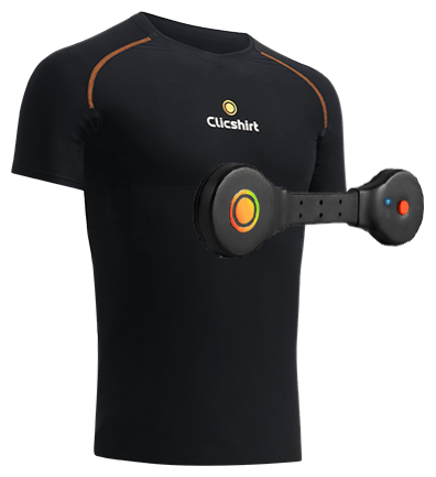 CONNECTED T-SHIRT FOR MEN INCLUDING CARDIOBOX