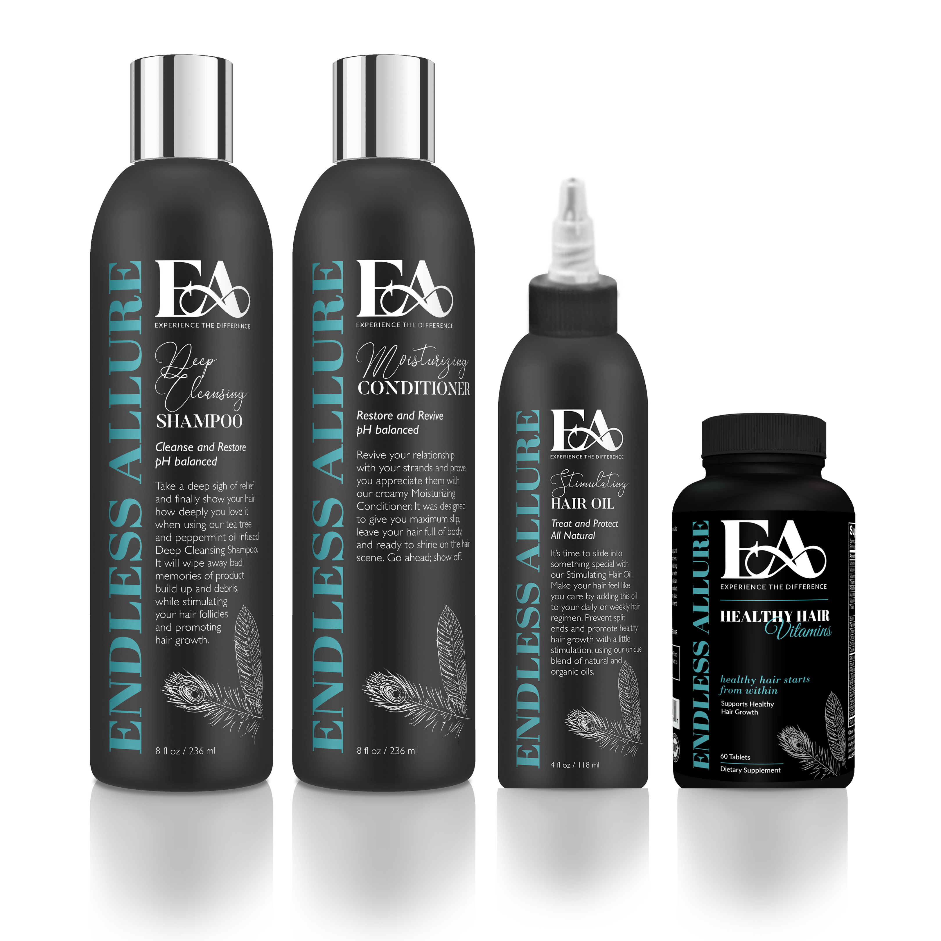 4 Step Healthy Hair Care System