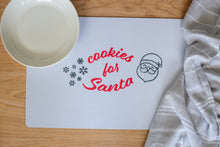 Load image into Gallery viewer, Place Mat - Cookies for Santa