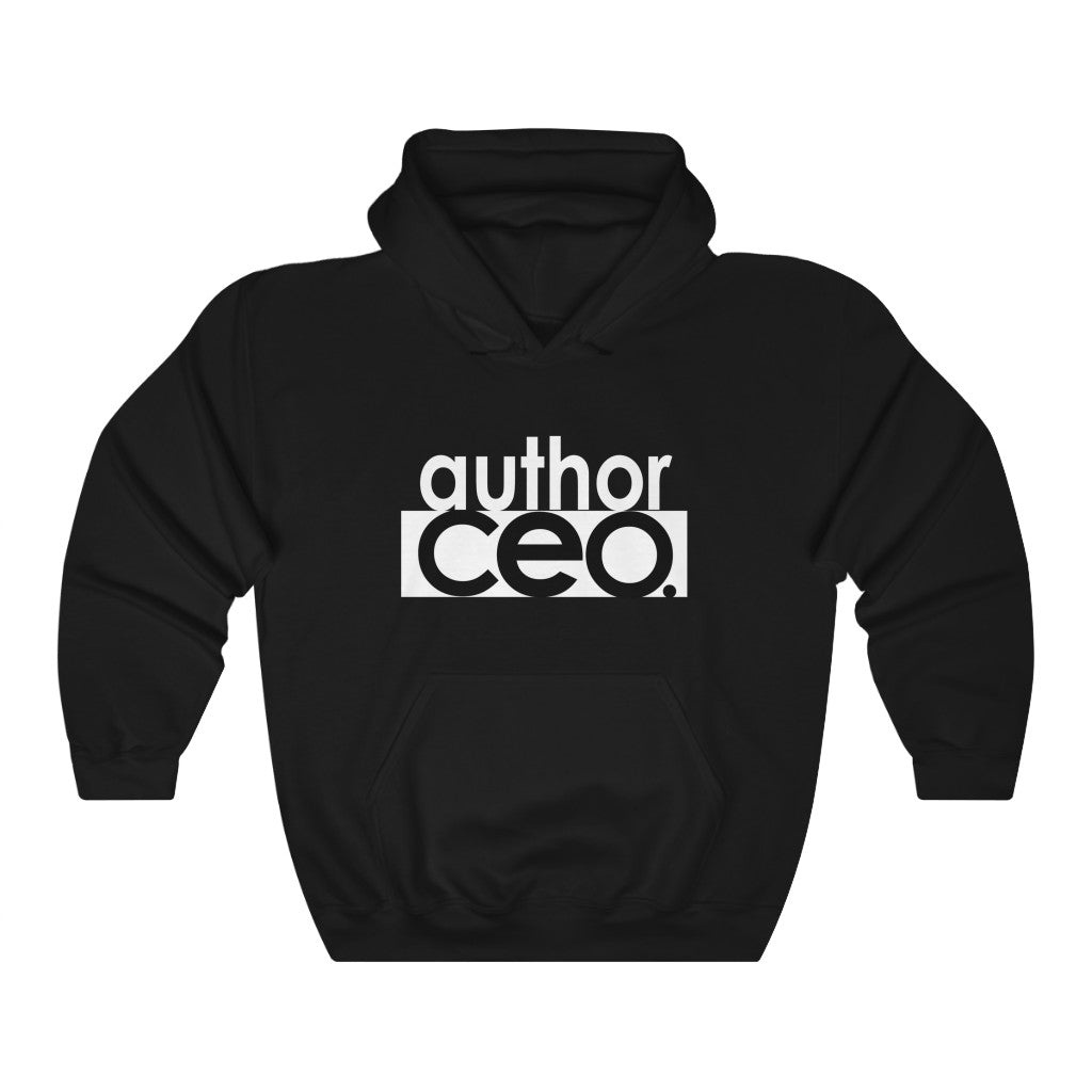 AUTHOR CEO | Unisex Heavy Blend™ Hooded Sweatshirt | THE AUTHOR'S PLUG SOCIETY