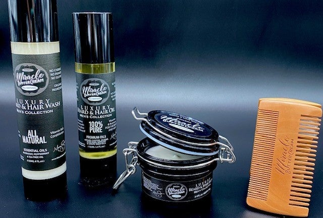 Men's Collection Beard & Hair Care Bundle