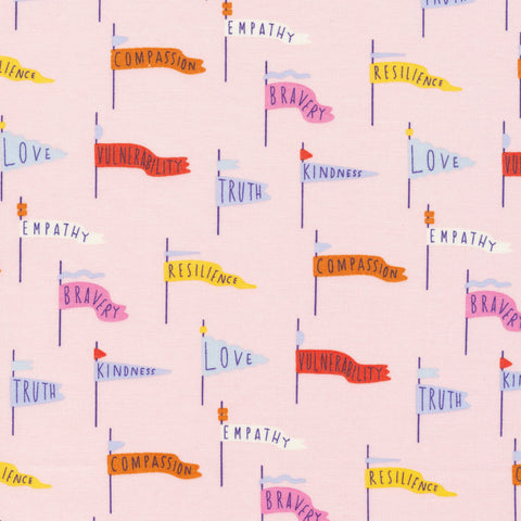 Pennant Power in Pink- Universal Love Collection