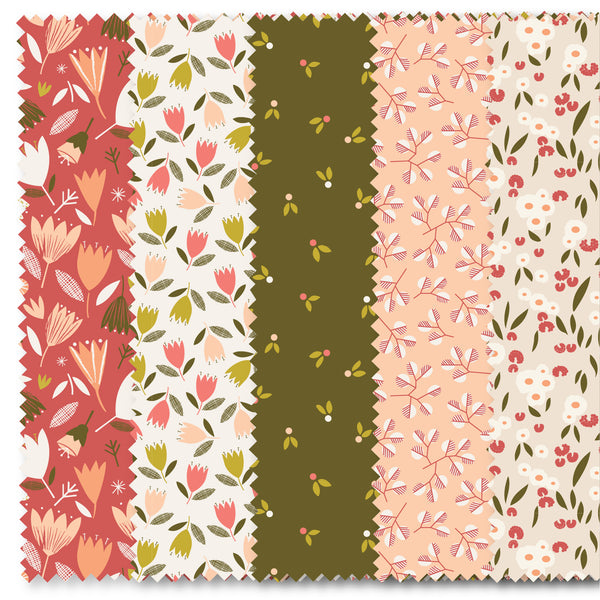 Garden Foray Meadow - Charm Pack