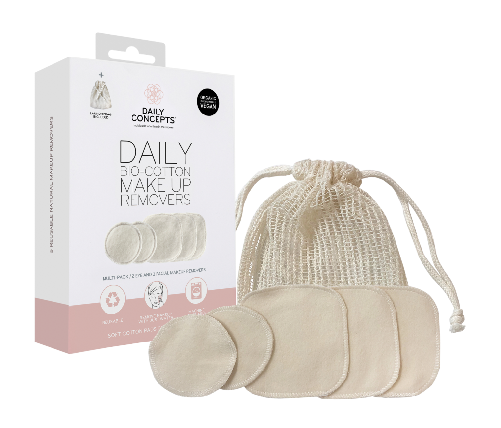 Daily Concepts · Daily Bio Cotton Makeup Removers Multi Pack