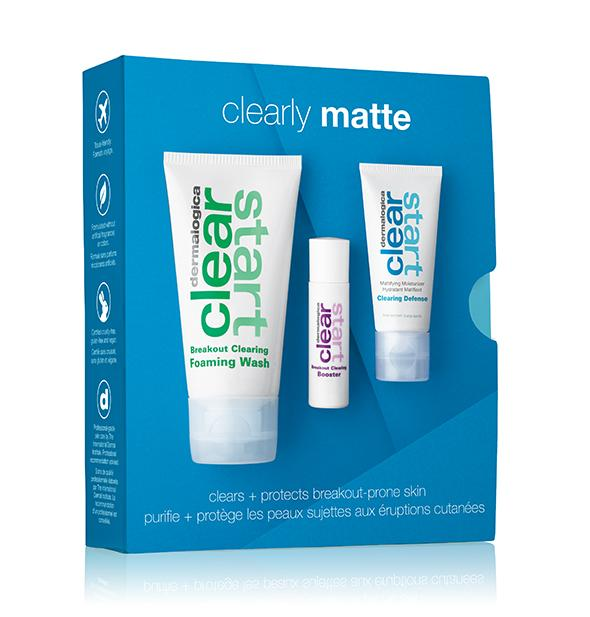 Dermalogica · Clearly Matte Kit w/ Foaming wash, Booster & SPF30 100ml