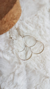 Mme Bovary - Earrings Double - Gold   MILD maternity boutique - maternity clothes at Mechelen