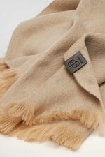 Loading Image into Gallery View, Bufandy - Alpaca Scarf Brushed Solid almond milk | MILD maternity boutique - maternity clothes at Mechelen