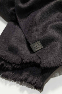Bufandy - Alpaca scarf Brushed Solid black | MILD maternity boutique - maternity clothes at Mechelen