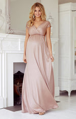 Loading Image into Gallery View, Tiffany Rose - Francesca maxi dress blush | MILD maternity boutique - maternity clothes at Mechelen