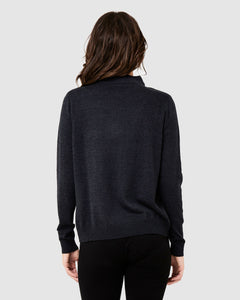 Ripe Maternity - Lambswool Overlay Nursing Knit | MILD maternity boutique - maternity clothes at Mechelen