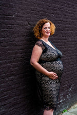Loading Image into Gallery View, Tiffany Rose - Imogen shift dress black   MILD maternity boutique - maternity clothes at Mechelen