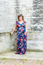 Loading Image into Gallery View, Tiffany Rose - Alana maxi dress midnight garden   MILD maternity boutique - maternity clothes at Mechelen