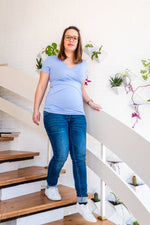 Loading Image into Gallery View, Love2wait - Sophia Skinny Jeans Stone Wash (Various Lengths)   MILD maternity boutique - maternity clothes at Mechelen
