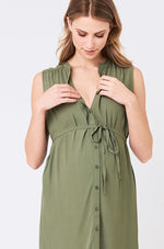 Loading Image into Gallery View, Ripe Maternity - April dress khaki | MILD maternity boutique - maternity clothes at Mechelen