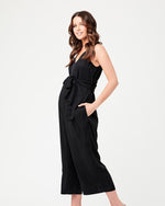 Afbeelding in Gallery-weergave laden, Naomi tencel jumpsuit black