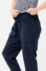 Afbeelding in Gallery-weergave laden, Tencel off duty pants navy