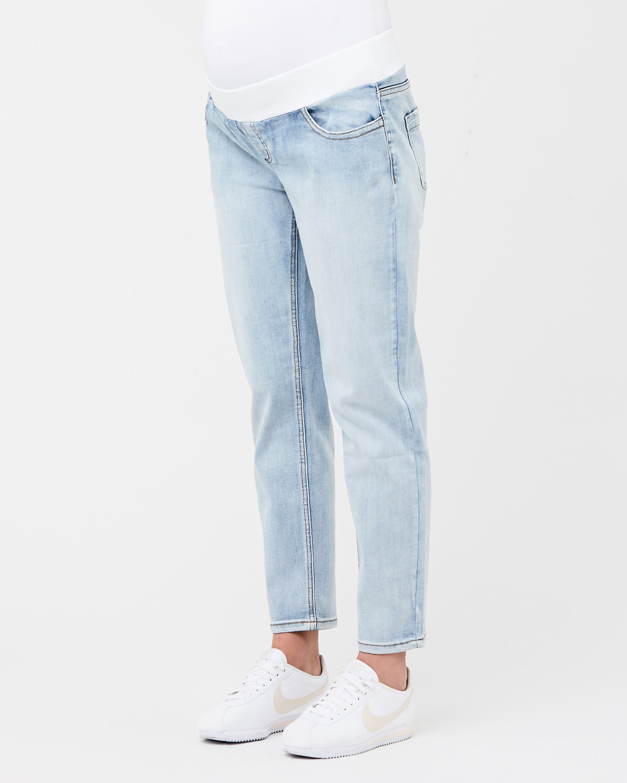 Jamie girlfriend jean pale blue