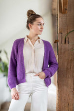 Load Image into Gallery View, Bonita Avenue - Amy (alpaca) Amethyst | MILD maternity boutique - maternity clothes at Mechelen