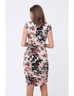 Loading Image in Gallery View, Ripe Maternity - Blossom cross your heart dress shell pink | MILD Umstandsboutique - Umstandsmode in Mechelen