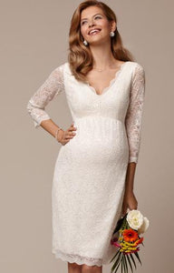 Tiffany Rose Chloé lace dress ivory | MILD maternity boutique - maternity clothes at Mechelen