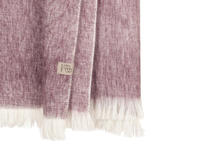 Bufandy - Alpaca scarf Brushed Solid mauve canvas   MILD maternity boutique - maternity clothes at Mechelen