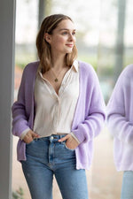 Load Image into Gallery View, Bonita Avenue - Amy (alpaca) Lilac | MILD maternity boutique - maternity clothes at Mechelen