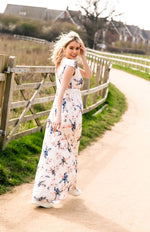 Loading Image into Gallery View, Tiffany Rose - Alana maxidress Japanese garden | MILD maternity boutique - maternity clothes at Mechelen