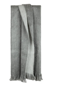 Bufandy - Scarf alpaca wool Doble silver fog   MILD maternity boutique - maternity clothes at Mechelen