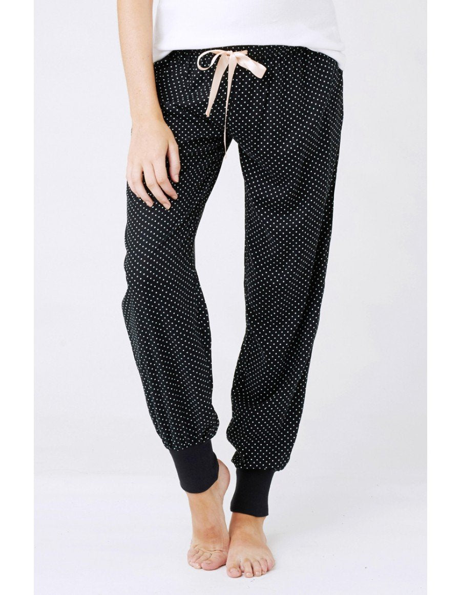Tori sleep pants dots