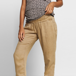 Loading Image into Gallery View, Love2wait - Linen Pants   MILD maternity boutique - maternity clothes at Mechelen