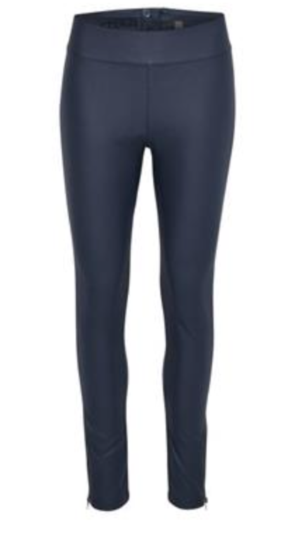 Cream Leggings Colour Royal Navy Blue Size 40 (14)