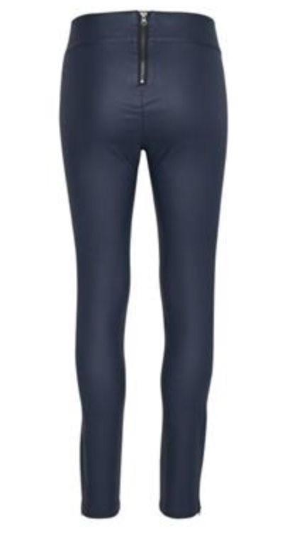 Cream Leggings Colour Royal Navy Blue Size 36 (10)