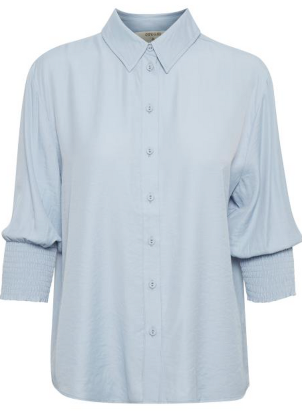 Nola Shirt by Cream Colour Kentucky Blue Size 36 (10)
