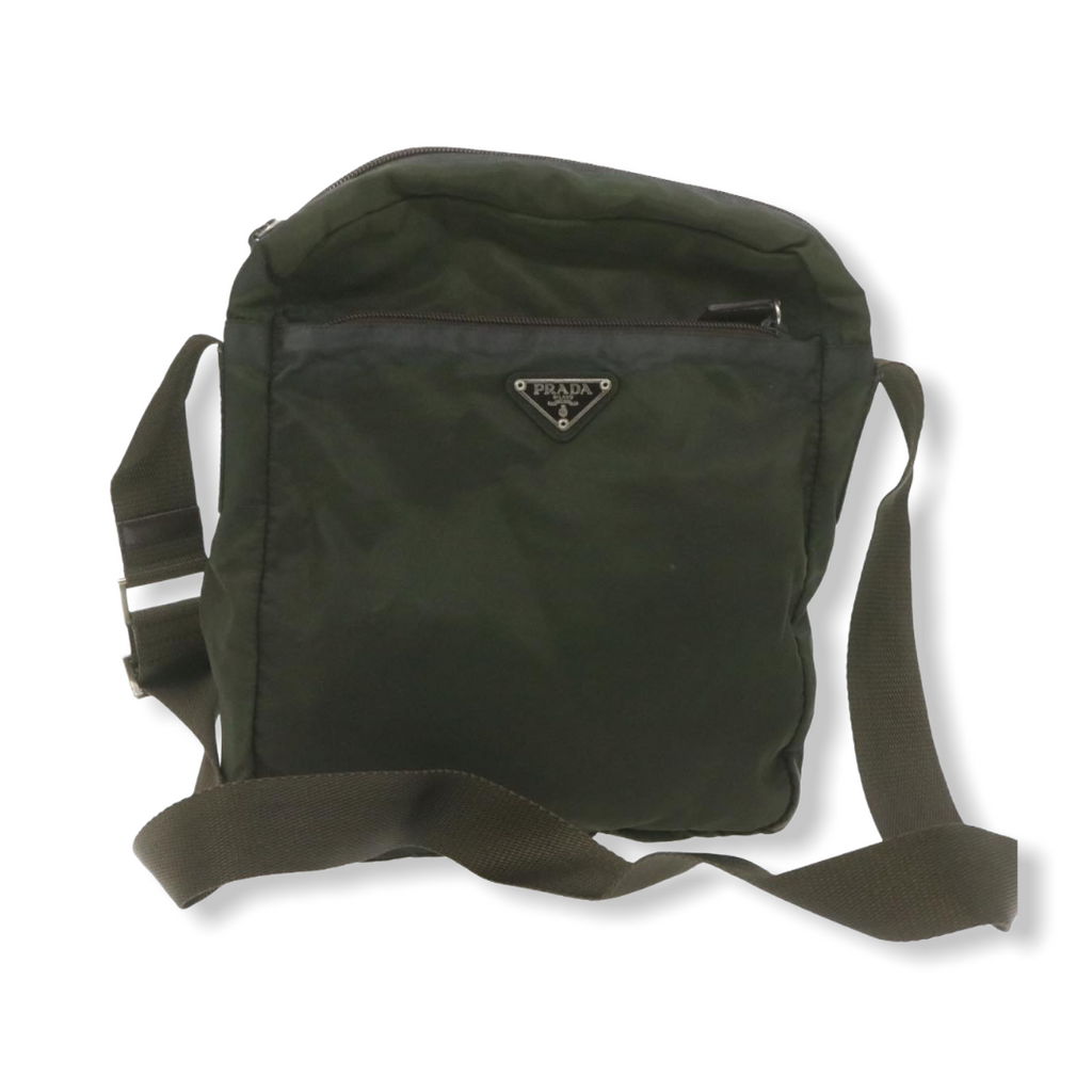 Prada Shoulder Bag Olive