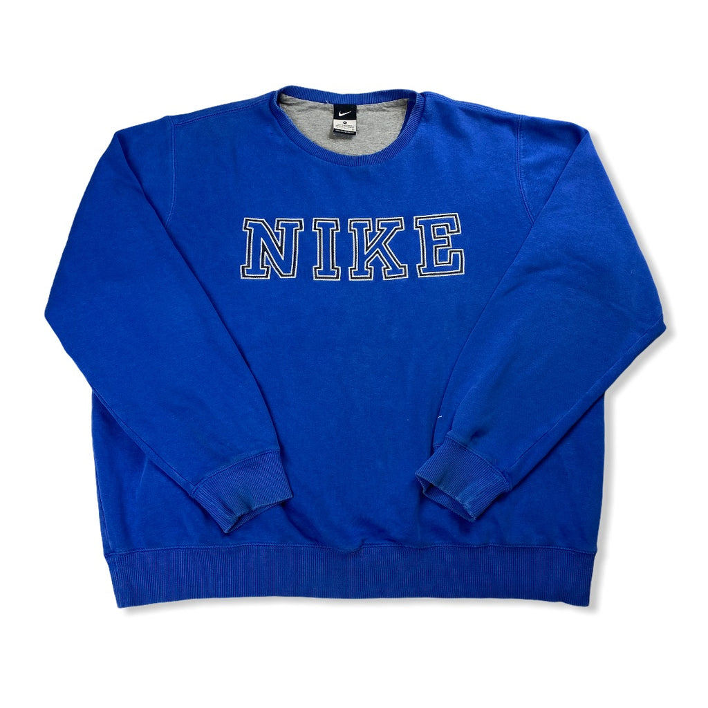 Nike Vintage Crewneck Sweater Blue XL