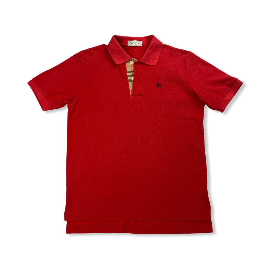 Burberry's Vintage Polo Red M