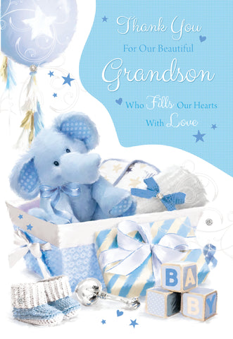 Thank You For Our Grandson - Birth