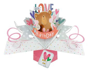 Birthday - Pop Up Card