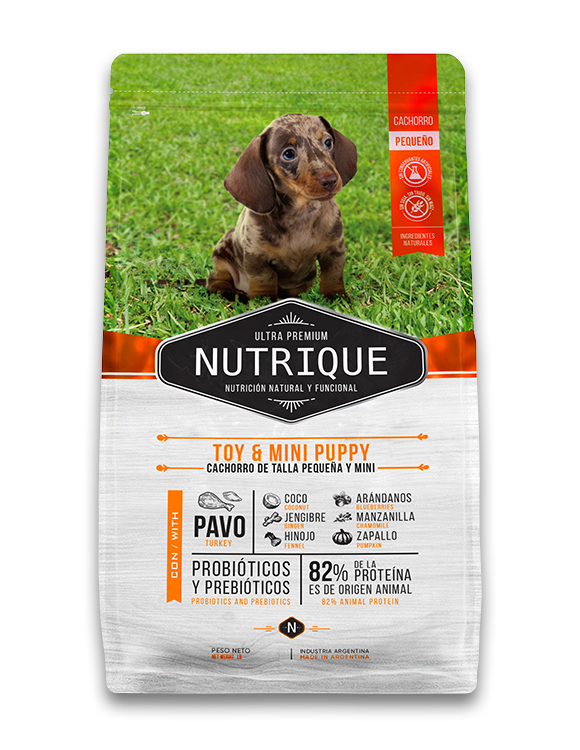 NUTRIQUE TOY & MINI PUPPY